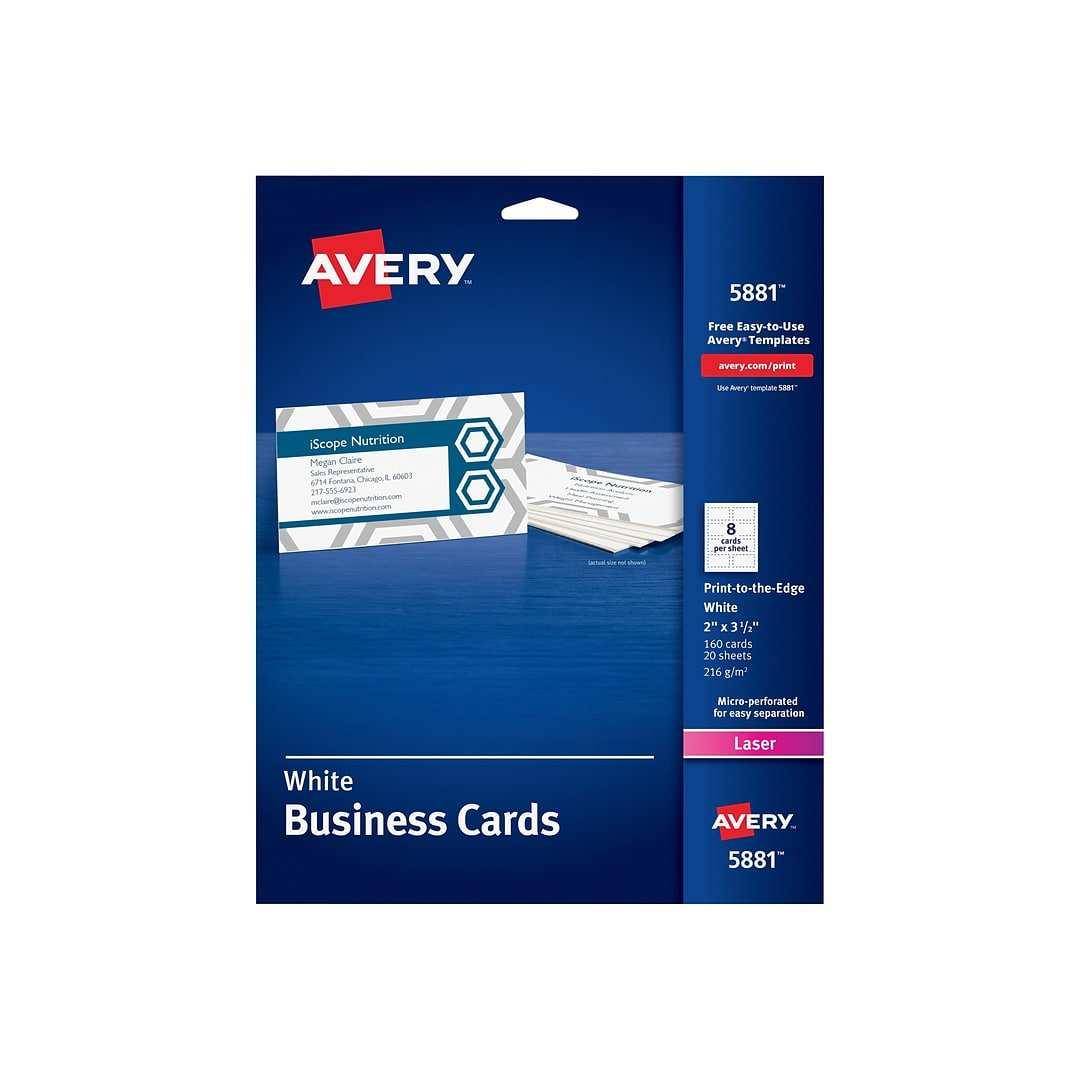 23 Create Avery Business Card Template Laser Printer Formating with Avery Business Card Template Laser Printer