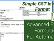 Gst Tax Invoice Format Online
