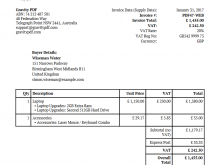23 Create Invoice Example Pdf Now by Invoice Example Pdf