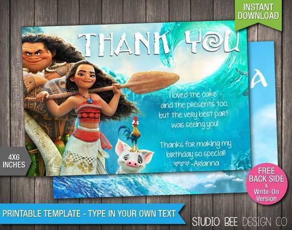 23 Create Thank You Card Template 1St Birthday Now by Thank You Card Template 1St Birthday