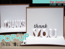 Pop Up Card Templates Free Download