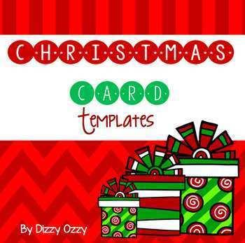 23 Creative Christmas Card Template For Teachers Formating by Christmas Card Template For Teachers