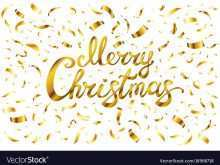 23 Creative Christmas Card Template Gold Download by Christmas Card Template Gold