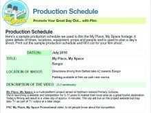 23 Creative Website Production Schedule Template With Stunning Design with Website Production Schedule Template