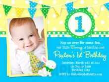 23 Customize 1 Birthday Invitation Card Template Templates for 1 Birthday Invitation Card Template