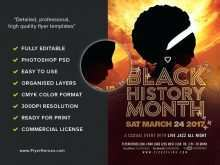 23 Customize Our Free Black History Month Flyer Template PSD File by Black History Month Flyer Template