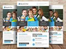 23 Format Free Education Flyer Templates PSD File with Free Education Flyer Templates