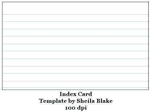 23 Free 6 X 4 Index Card Template Download by 6 X 4 Index Card Template