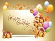 23 Free Printable Happy Birthday Card Template Photoshop PSD File by Happy Birthday Card Template Photoshop