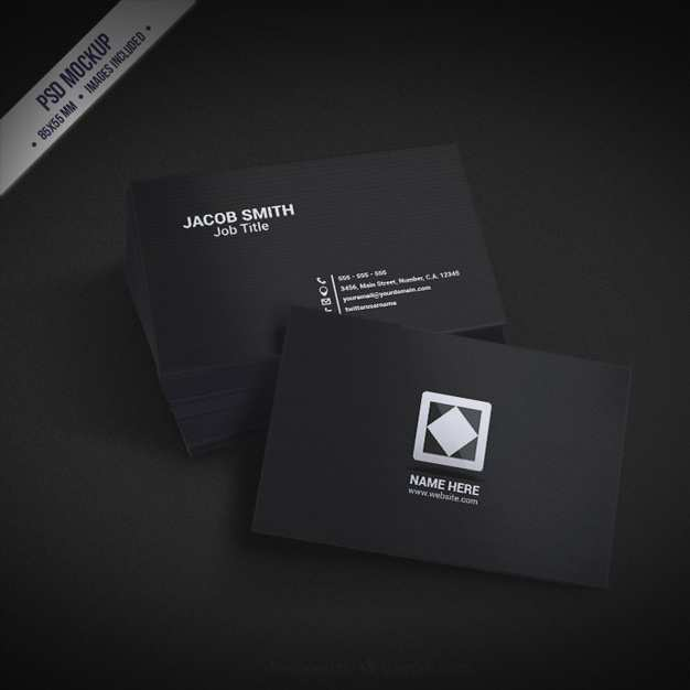 23 How To Create Business Card Mockup Template Free Download in Photoshop with Business Card Mockup Template Free Download