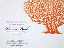 Invitation Card Sample For Launching