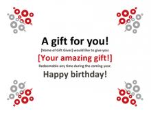 23 Printable Birthday Gift Card Template Word Templates with Birthday Gift Card Template Word