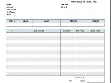 23 Printable Car Repair Invoice Template Pdf Formating with Car Repair Invoice Template Pdf