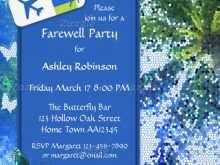 23 Printable Farewell Invitation Card Template Word in Photoshop with Farewell Invitation Card Template Word