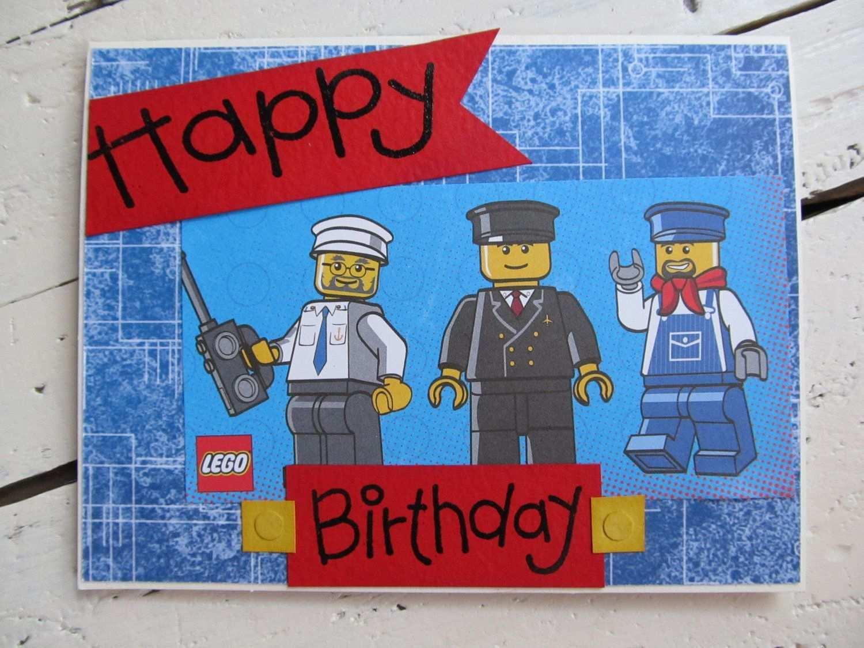 Ninjago Birthday Card Template   Cards Design Templates