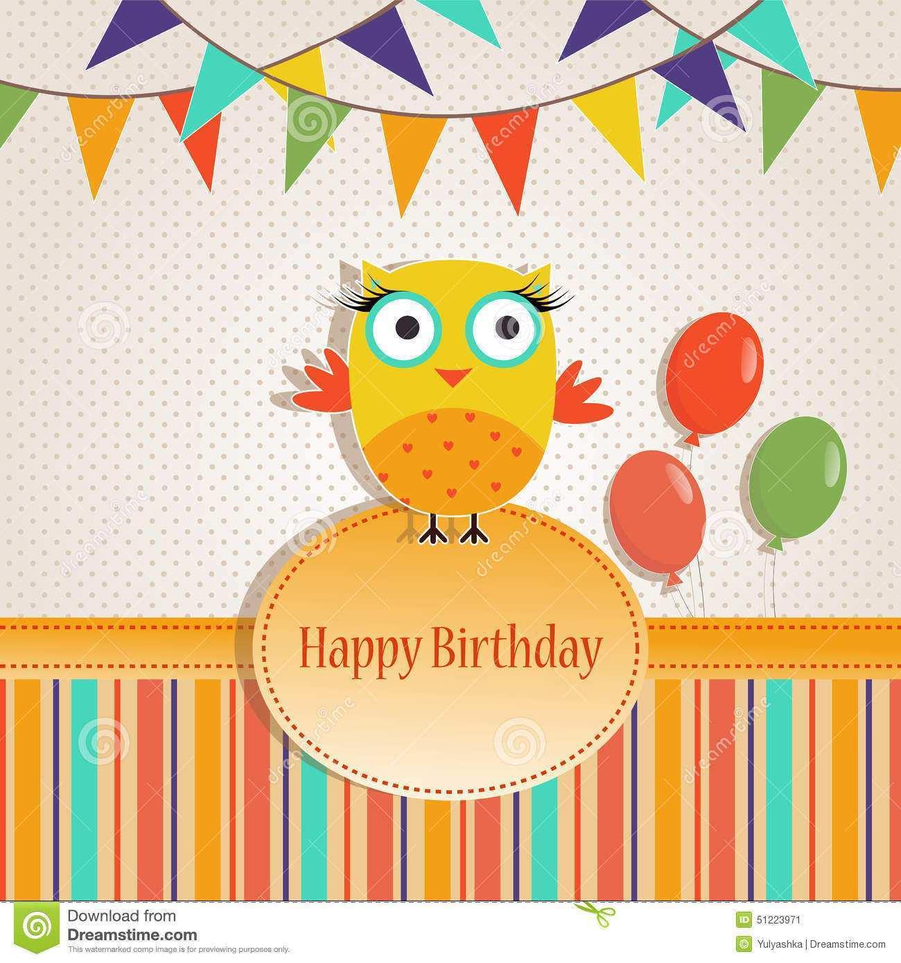 Birthday Card Template Adobe Illustrator Cards Design Templates