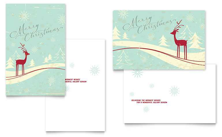 23 The Best Christmas Card Template For Microsoft Word in Word for Christmas Card Template For Microsoft Word