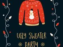 23 The Best Christmas Sweater Card Template For Free with Christmas Sweater Card Template