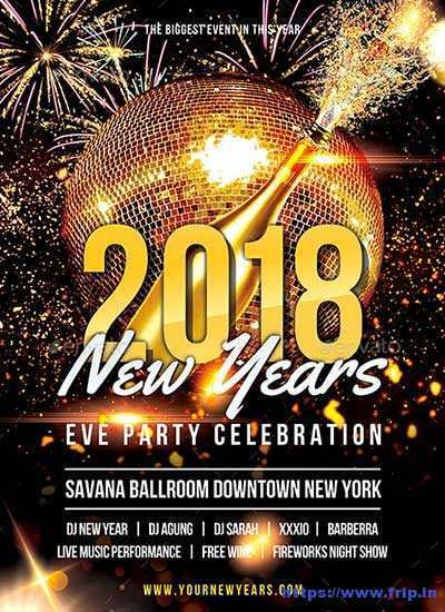 Free New Years Eve Flyer Template from legaldbol.com
