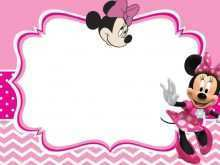 24 Adding Birthday Card Template Minnie Mouse in Photoshop by Birthday Card Template Minnie Mouse