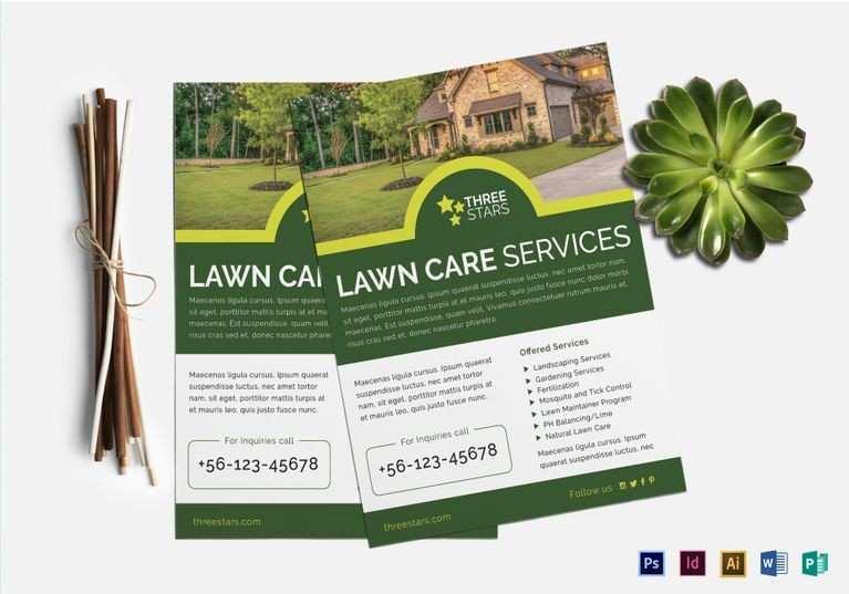 24 Best Free Lawn Mowing Flyer Template Layouts for Free Lawn Mowing Flyer Template