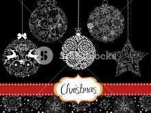 24 Blank Christmas Card Ornaments Template PSD File by Christmas Card Ornaments Template