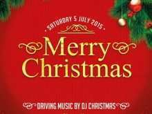24 Blank Free Christmas Flyer Templates in Photoshop with Free Christmas Flyer Templates