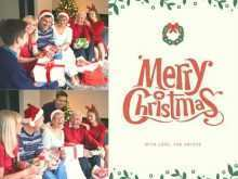 Christmas Card Collage Templates