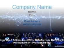 24 Creating Business Card Templates Dj Free Templates by Business Card Templates Dj Free