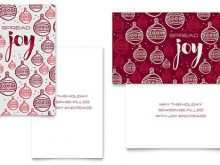 4 Fold Card Template Publisher