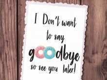 24 Creative Farewell Card Templates Nz in Word with Farewell Card Templates Nz