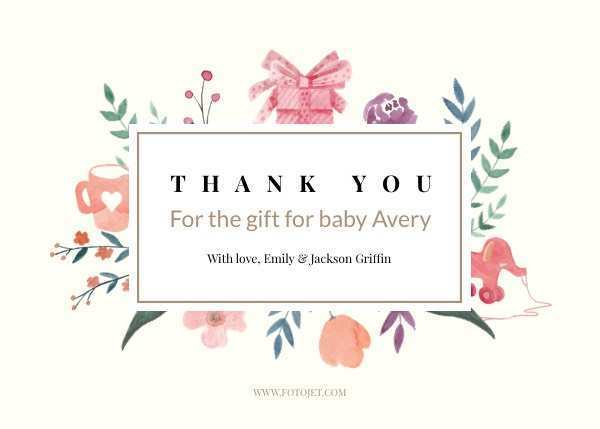 24 Creative Thank You Card Template Images Templates for Thank You Card Template Images