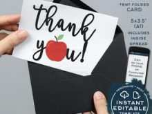 24 Customize Our Free Apple Thank You Card Template Formating by Apple Thank You Card Template