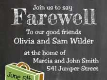 24 Customize Our Free Farewell Invitation Card Template Word Templates by Farewell Invitation Card Template Word