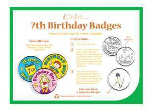24 Format 7 Year Old Birthday Card Template Layouts by 7 Year Old Birthday Card Template