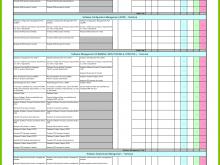 24 Format Audit Plan Schedule Template Layouts for Audit Plan Schedule Template