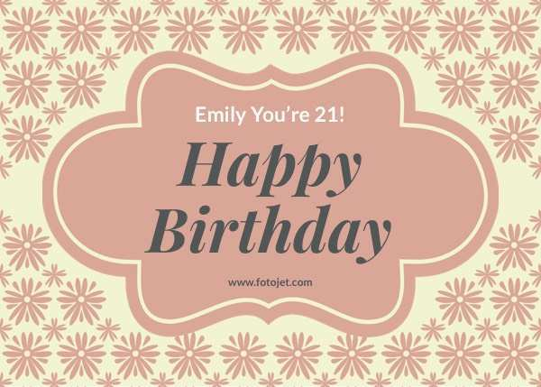 24 Format Birthday Card Html Template Free Photo by Birthday Card Html Template Free
