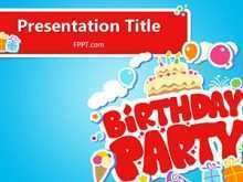 24 Free Birthday Card Template In Powerpoint Download by Birthday Card Template In Powerpoint