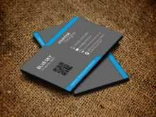 Two Sided Business Card Template For Word