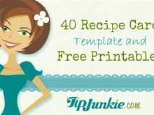 24 How To Create Editable Recipe Card Template Free 3X5 Download by Editable Recipe Card Template Free 3X5