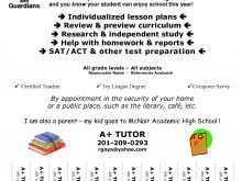 24 Online Math Tutor Flyer Template Maker by Math Tutor Flyer Template