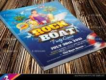 24 Printable Boat Party Flyer Template Psd Free For Free with Boat Party Flyer Template Psd Free