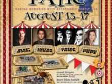 24 Printable County Fair Flyer Template With Stunning Design for County Fair Flyer Template