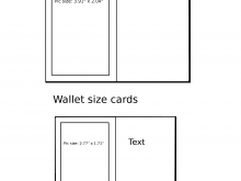 Playing Card Template Word Document