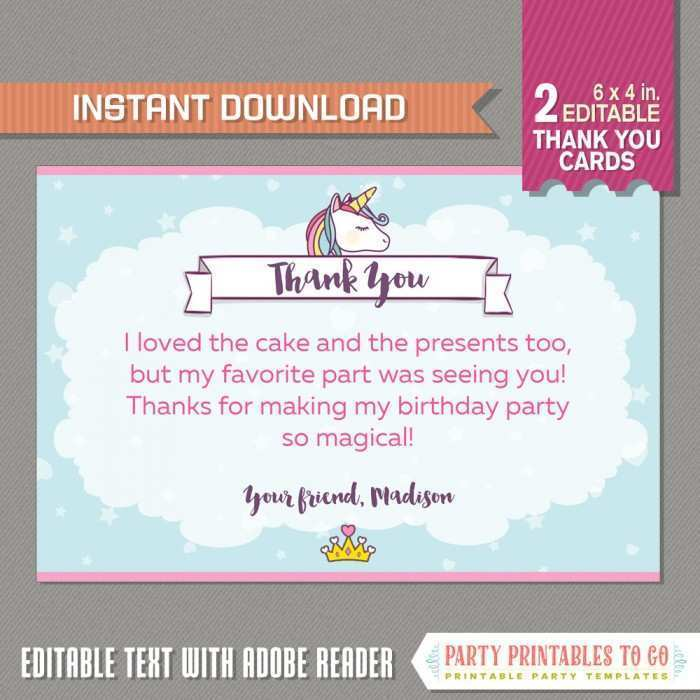 24 Standard Adobe Thank You Card Template in Photoshop with Adobe Thank You Card Template