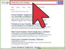 24 Standard Blank Invoice Template Google Docs Formating for Blank Invoice Template Google Docs
