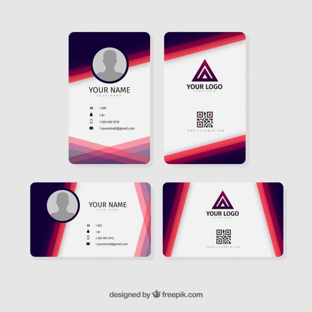 24 Standard Id Card Template All Free Download Now with Id Card Template All Free Download