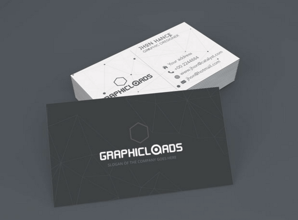 Name Card Template Free from legaldbol.com