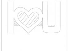 24 Standard Pop Up Card Pattern Valentine For Free by Pop Up Card Pattern Valentine