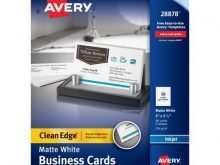24 The Best Avery Business Card Template Software Now for Avery Business Card Template Software